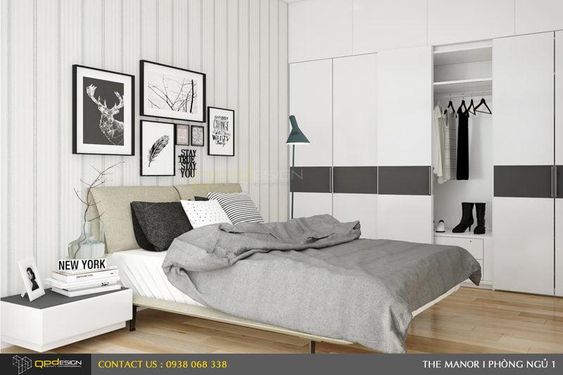 Thiết kế nội thất căn hộ chung cư The manor 10