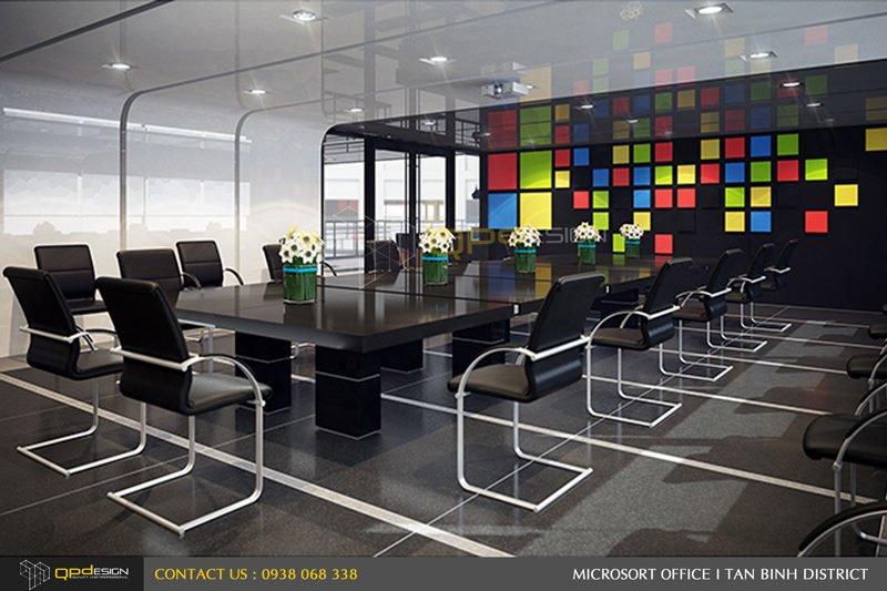 Thiết kế nội thất văn phòng Microsort Việt Nam 12