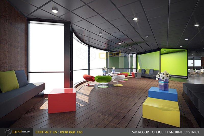 Thiết kế nội thất văn phòng Microsort Việt Nam 26