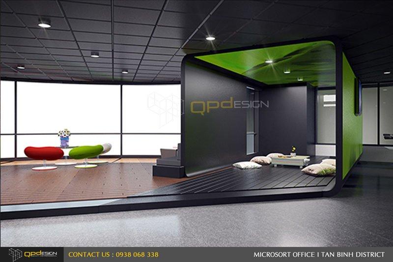 Thiết kế nội thất văn phòng Microsort Việt Nam 27