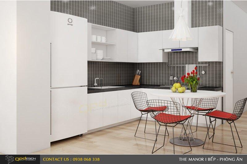 Thiết kế nội thất căn hộ chung cư The manor 1