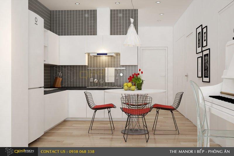 Thiết kế nội thất căn hộ chung cư The manor 3