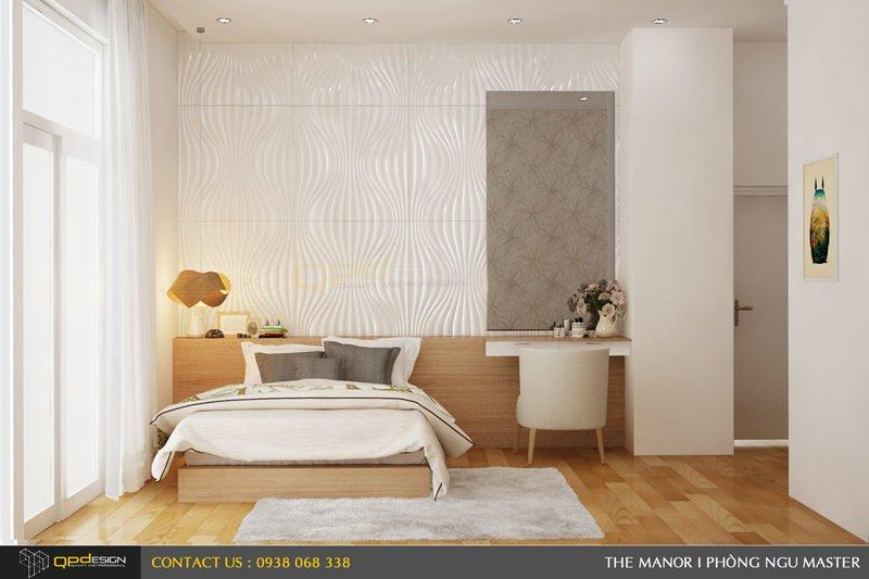 Thiết kế nội thất căn hộ chung cư The manor 4
