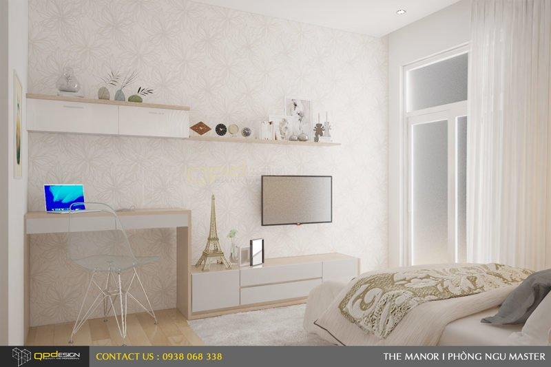 Thiết kế nội thất căn hộ chung cư The manor 6
