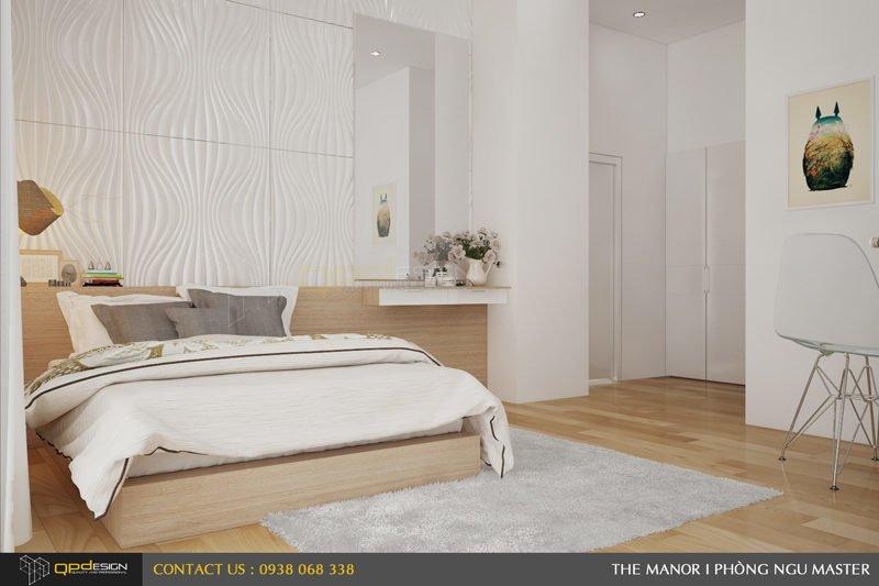 Thiết kế nội thất căn hộ chung cư The manor 7