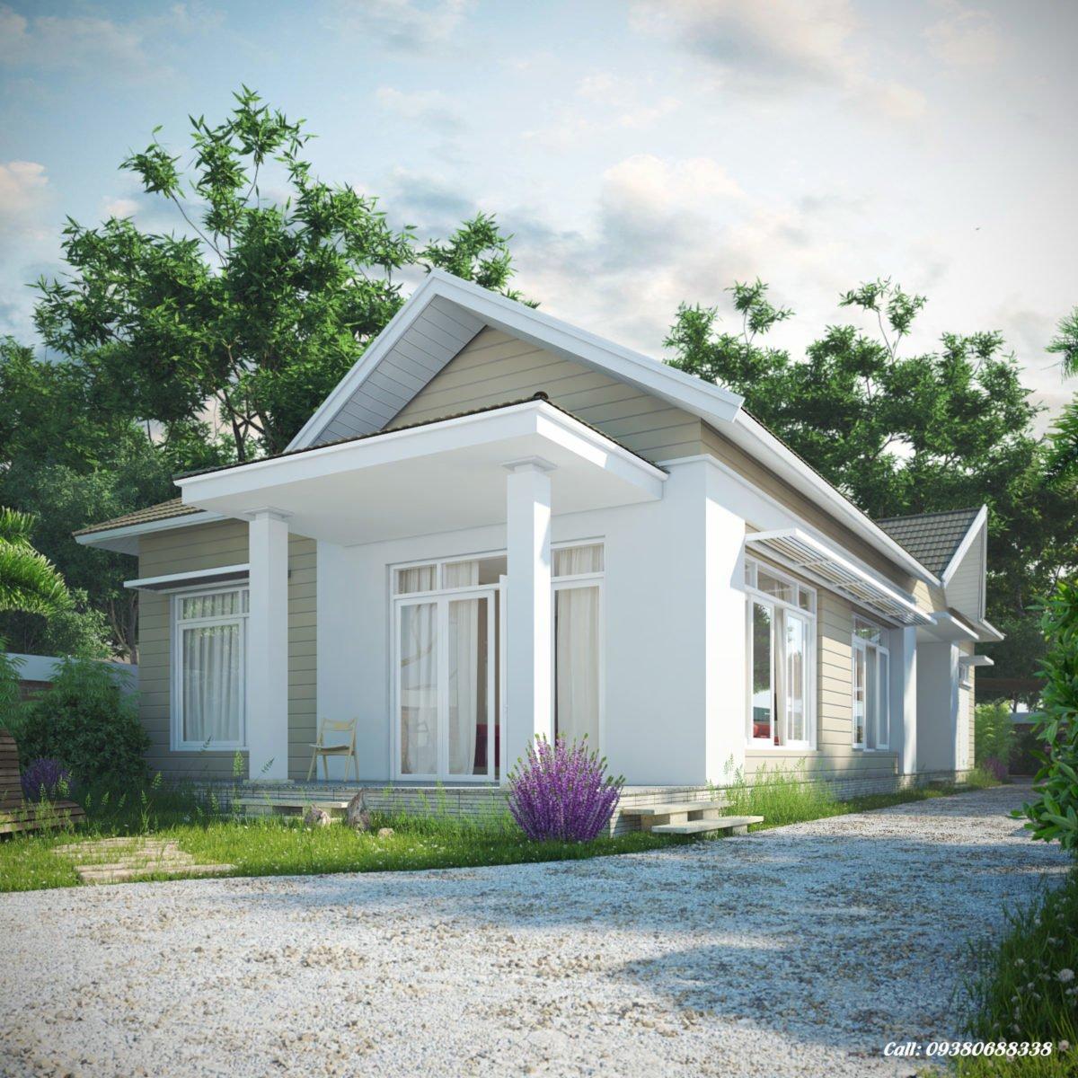 Thiết kế Biệt thự sân vườn - Mr.Triết