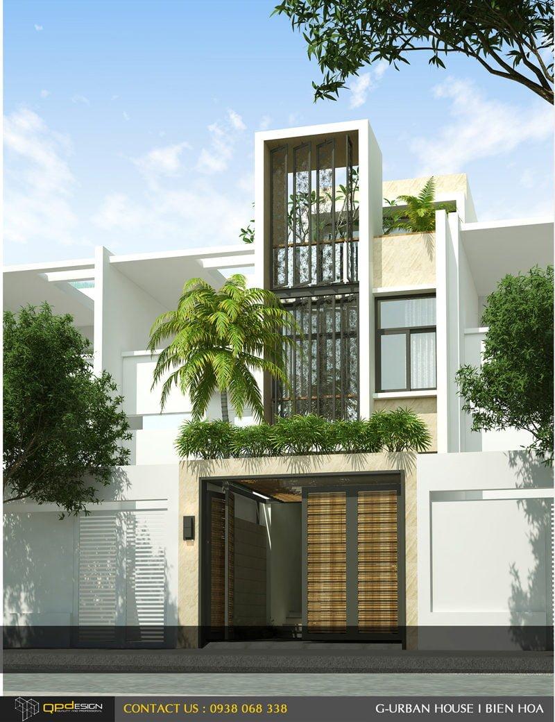 Thiết kế kiến trúc - nội thất nhà phố Biên Hòa 2