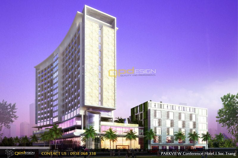 051 Thiết Kế khách sạn Sóc Trăng qpdesign