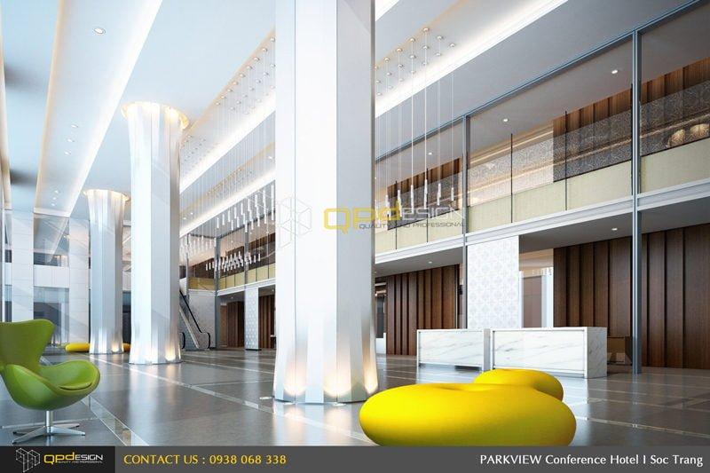 091 Thiết Kế khách sạn Sóc Trăng qpdesign