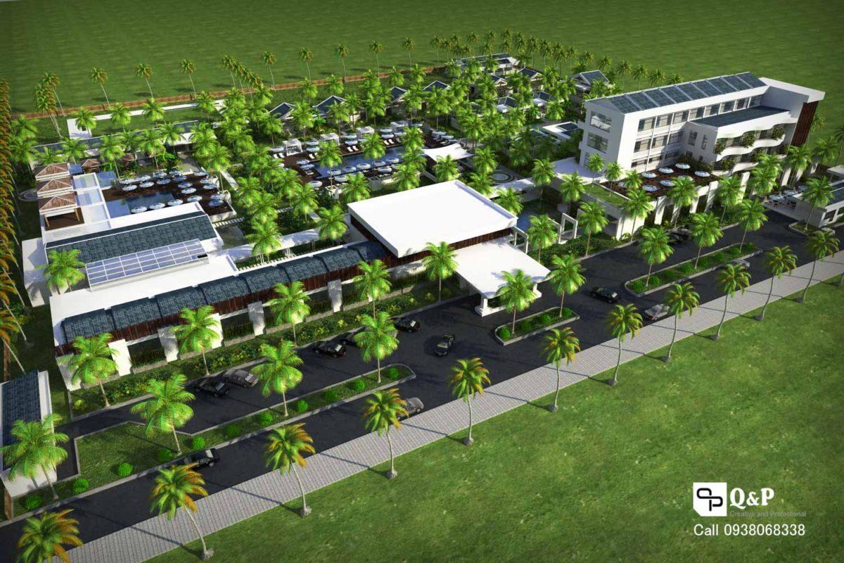 121 Resort HANABEACH qpdesign