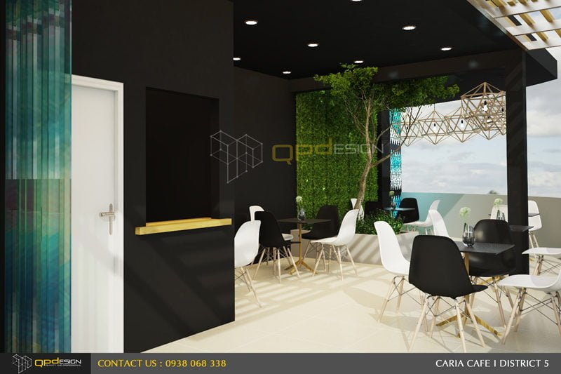 124 THIẾT KẾ NỘI THẤT CAFE CARIA qpdesign