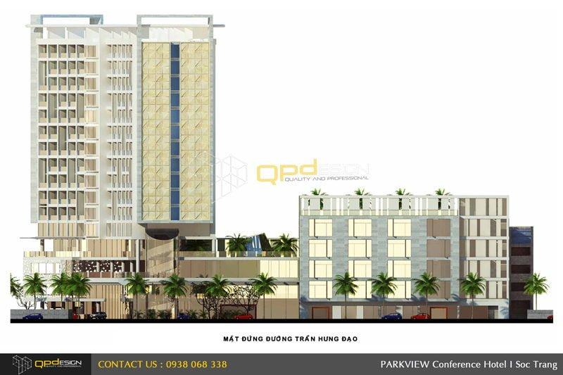 162 Thiết Kế khách sạn Sóc Trăng qpdesign