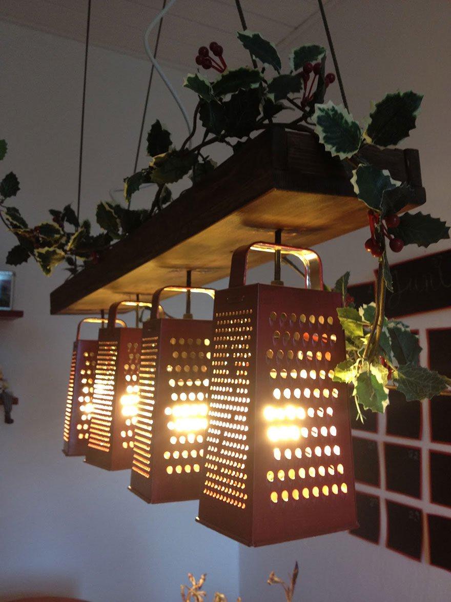 2576306 10 2 Đèn chùm trang trí làm từ những vật dụng không dùng nữa qpdesign
