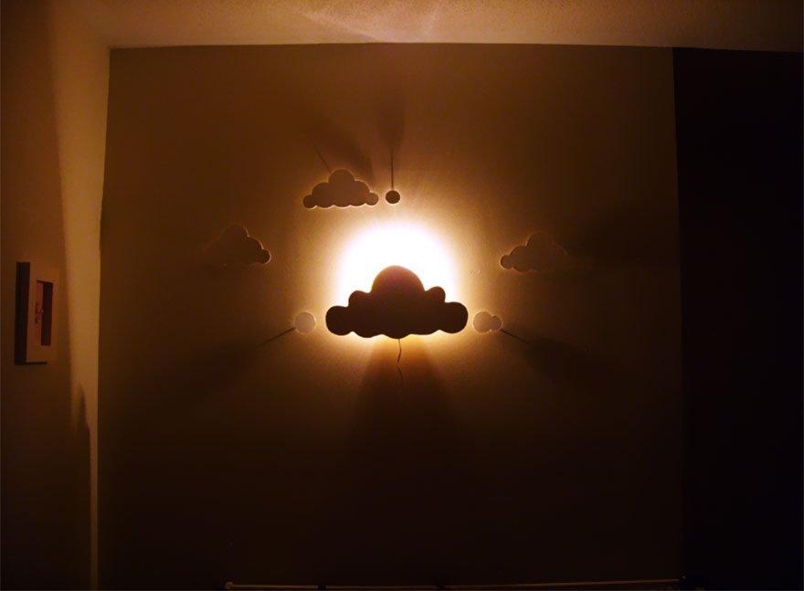 2576310 13 1 Đèn chùm trang trí làm từ những vật dụng không dùng nữa qpdesign
