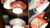 Đèn chùm trang trí làm từ những vật dụng không dùng nữa