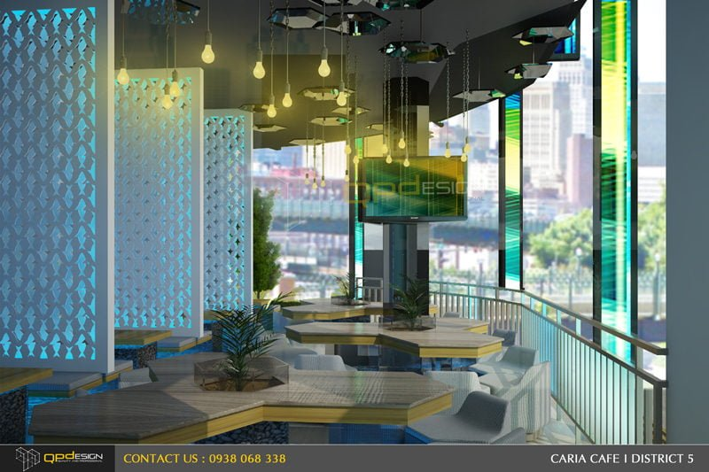 45 THIẾT KẾ NỘI THẤT CAFE CARIA qpdesign
