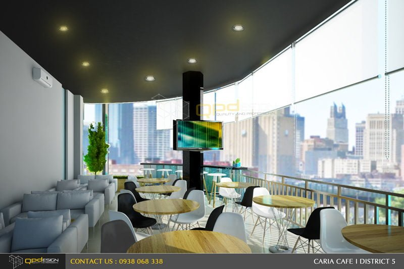 75 THIẾT KẾ NỘI THẤT CAFE CARIA qpdesign