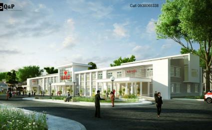 Thiết kế Bệnh viện trung ương khu vực Cái Nước