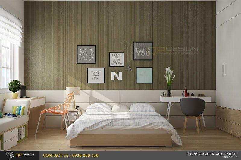 i1 Thiết kế nội thất căn hộ chung cư 84m2   Tropic Garden qpdesign