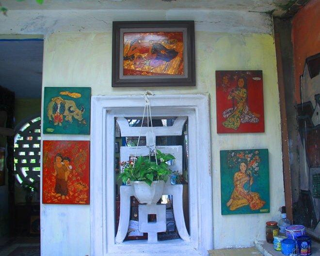 n10 1408328413 660x0 Nhà vườn 70 năm tuổi giữa phố cổ Hà Nội qpdesign