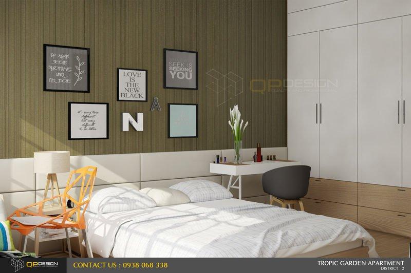 n2 Thiết kế nội thất căn hộ chung cư 84m2   Tropic Garden qpdesign