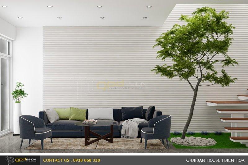 Thiết kế kiến trúc - nội thất nhà phố Biên Hòa 1