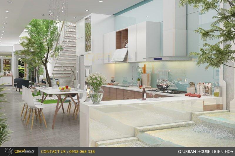 Thiết kế kiến trúc - nội thất nhà phố Biên Hòa 10
