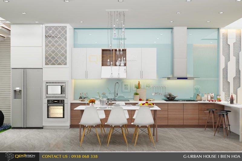 Thiết kế kiến trúc - nội thất nhà phố Biên Hòa 12
