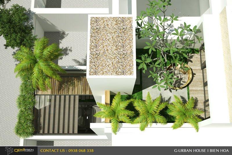 Thiết kế kiến trúc - nội thất nhà phố Biên Hòa 3