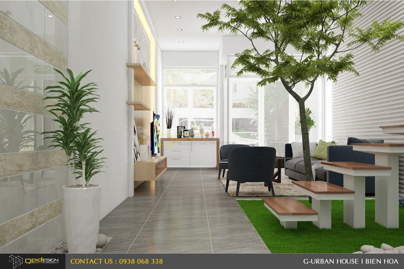 Thiết kế kiến trúc - nội thất nhà phố Biên Hòa 5