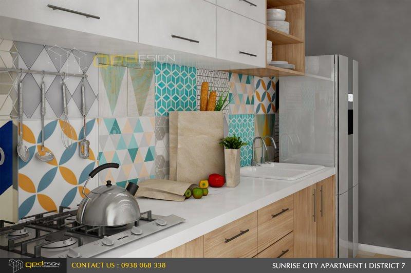Thiết kế nội thất căn hộ chung cư Sunrise City 5