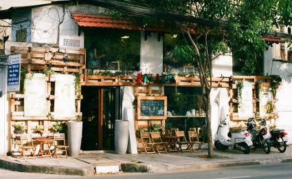 Café Bazaar – quán cafe có kiến trúc độc đáo của cô sinh viên mỹ thuật