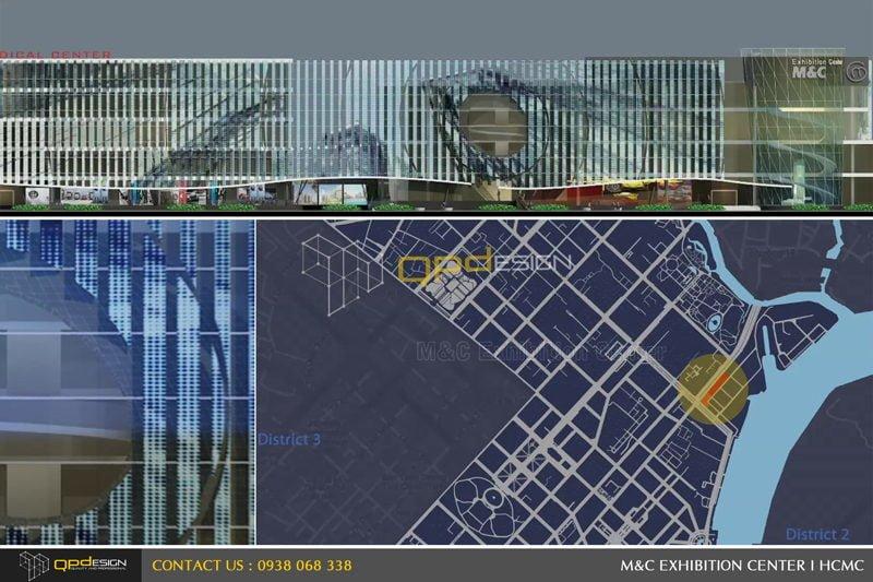 Thiết kế trung tâm triển lãm phức hợp M&C 00