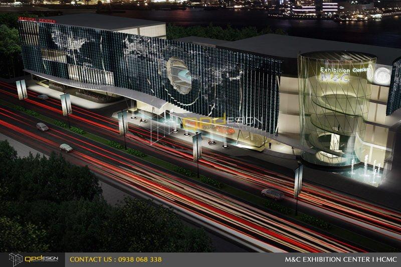 Thiết kế trung tâm triển lãm phức hợp M&C 01