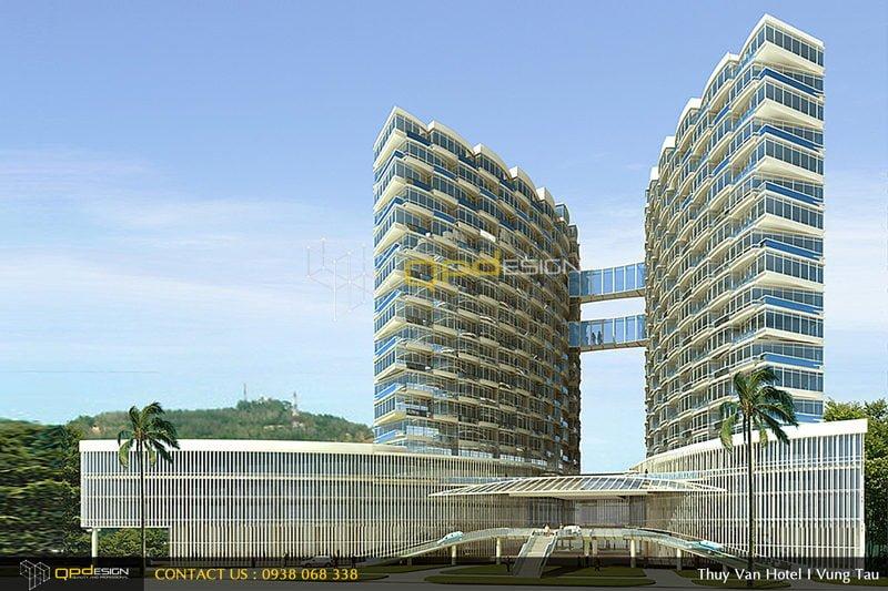 0111 Thiết kế khách sạn Thùy Vân qpdesign