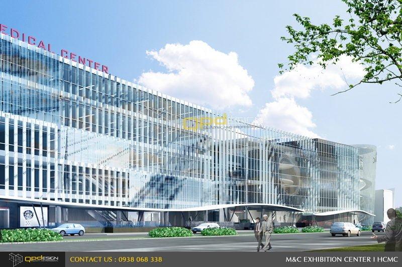 Thiết kế trung tâm triển lãm phức hợp M&C 02