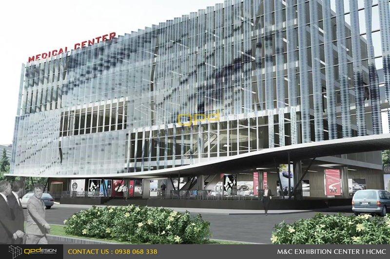 Thiết kế trung tâm triển lãm phức hợp M&C 03