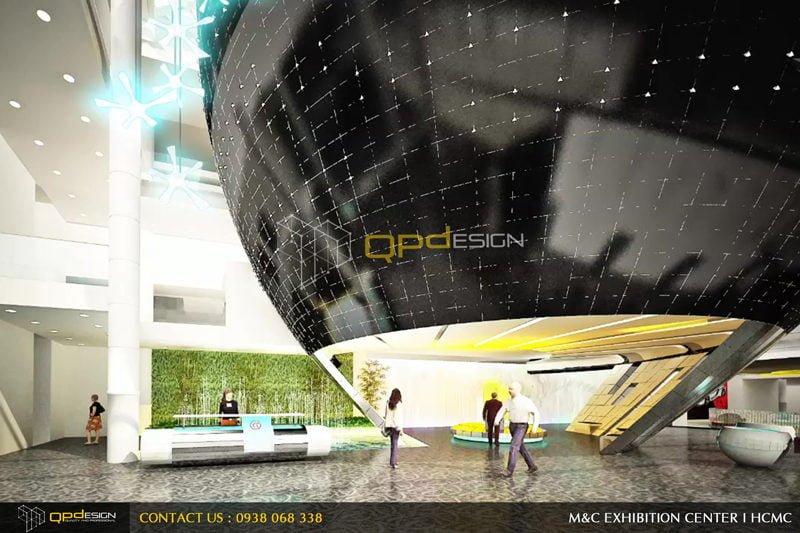 Thiết kế trung tâm triển lãm phức hợp M&C 05