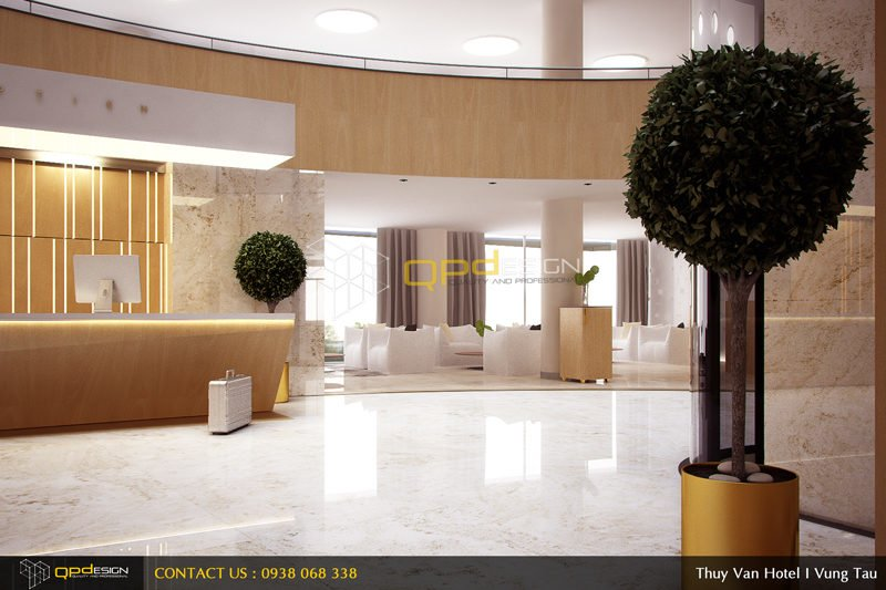 0711 Thiết kế khách sạn Thùy Vân qpdesign