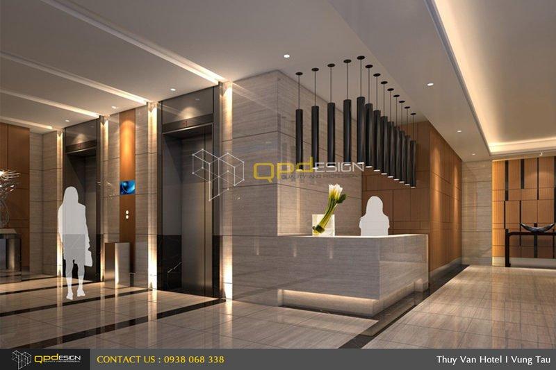 0811 Thiết kế khách sạn Thùy Vân qpdesign