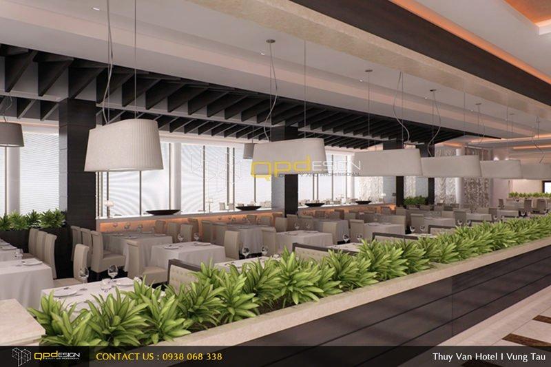 0911 Thiết kế khách sạn Thùy Vân qpdesign