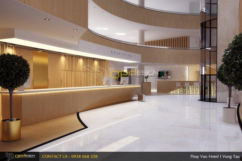 1 Thiết kế khách sạn Thùy Vân qpdesign