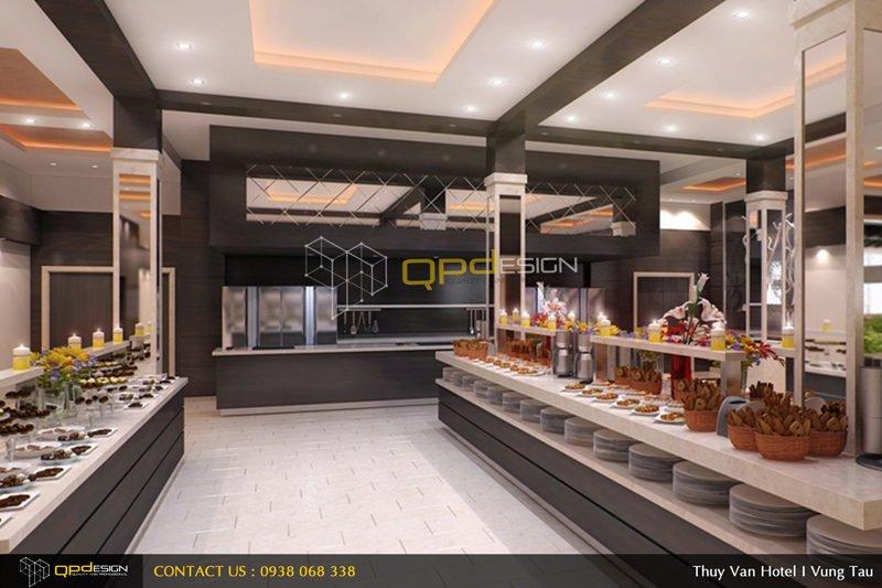 1011 Thiết kế khách sạn Thùy Vân qpdesign