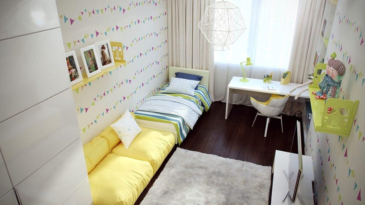 cute-yellow-kids-room