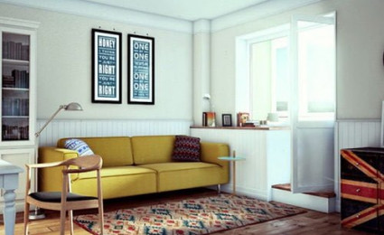 Căn hộ 37 m2 đầy đủ tiện nghi