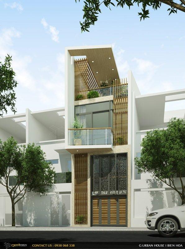 Thiết kế kiến trúc – nội thất nhà phố Biên Hòa – Mr Hùng 2