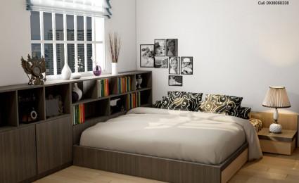 Thiết kế cải tạo phòng ngủ ba mẹ dự án E homes 2