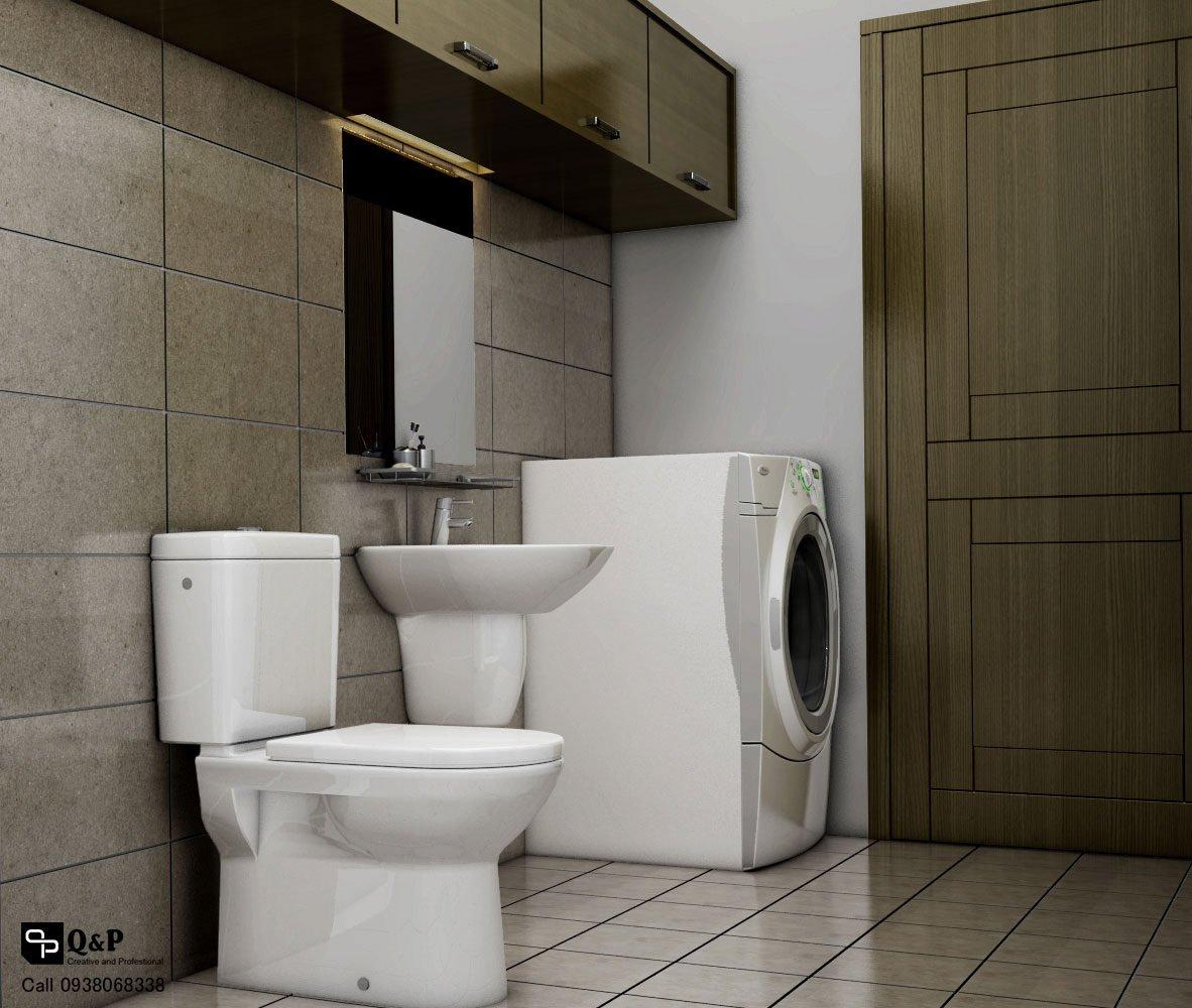 ve sinh 21 Cải tạo nội thất căn hộ chung cư Ehome 2   Anh Bình qpdesign