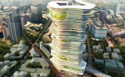 Dự án thành phố nằm gọn trong cao ốc ở châu Âu