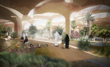 Al Fayah – Công viên được xây dựng bên dưới lòng sa mạc tại Abu Dhabi, UAE